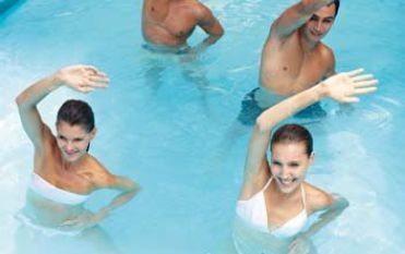 Aqua-Rückenfit